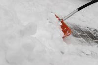 Schneeschippe